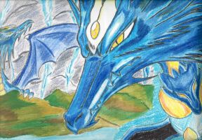 dragons of the blue sword by sakura11