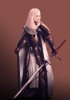 Lady Knight by wombattree