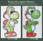 Improvement Meme: YOSHI by MightyBiteySnake
