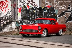 Red Thunderbird by AmericanMuscle