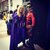Spoiler and Robin at NYCC 2012 by PaigeinWonderland
