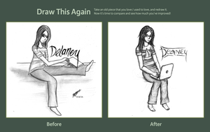 Draw This Again - Delaney by MlleNightingale