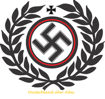 The coat of arms in my alternate Reich. by someone1fy