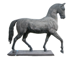 Horse statue Stock by ChristinaIsabella