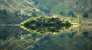 Haweswater Reflection by scotto