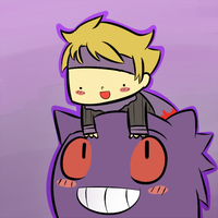 A boy and his Gengar by WaywardDoodles