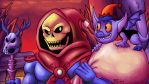 A Skeletor Christmas by megadrivesonic