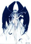 dark winged seraph by chicharon