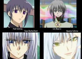 Anime Look A likes 2 by TigerKlaw