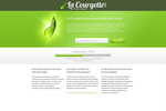 Landing page for Lacourgette by CMJN-D