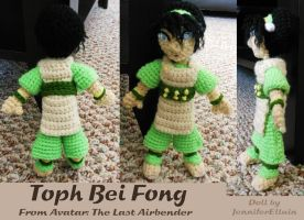 Toph doll by JenniferElluin