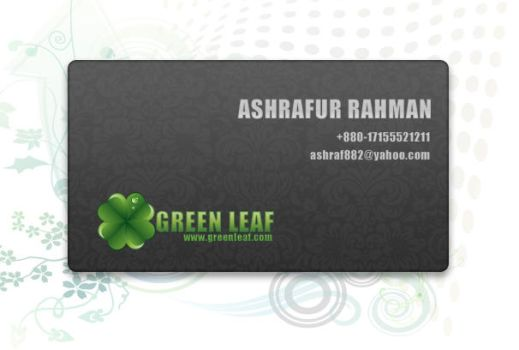 Business Card by ashraf882