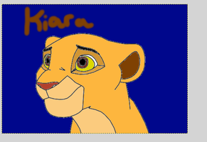 My attempt of Kiara hope you like it by KaliFHunter20