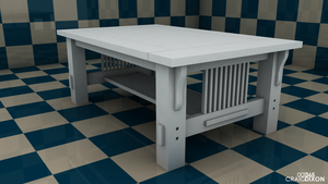 D3D 001 - Table by SamuelLAssassin