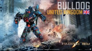 Pacific Rim - Jeager: BullDog by Lugnut1995
