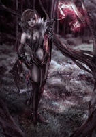 Outcast Odyssey - Witch of the Forest - Stage 1 by Tiffany-Tees