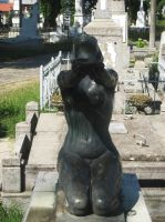Stock 87 - Begging woman statue 2 by MariaBilinski