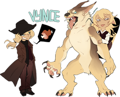 Vynce Reference by alibumpkin