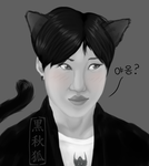 Taemin Cat by kuroakikitsune