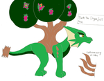 Bark the dragon fruit tree by pd123sonic
