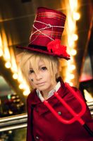 Kagamine Len - Trick and Treat by 17th-Jokers