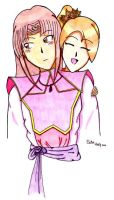 Lovely Pair - finished by YukoHoon