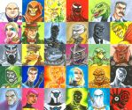 POST-IT Project - MONTH 8 by TPollockJR