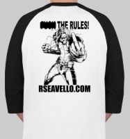 F the Rules T-Shirt by Pigbert