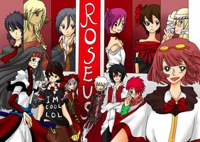 AoH Collab - Roseus Squad by HeckoX
