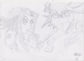 Team 5D's - sketch by Gisux