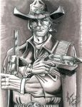 Jonah Hex Commission by DungeonMassacre