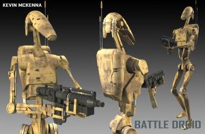 Battle droids by CC-5052