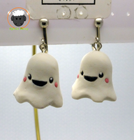 Ghost Earrings by Hybrid-Sheep