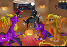 Happy Halloween by GoldenTigerDragon