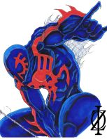 Spider-man 2099 by ChrisOzFulton