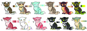 Little Kitties Batch 2 [CLOSED] by Xecax