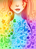 Color Girl by 3lda