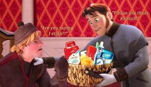 Gift Basket for Kristoff by Simmeh
