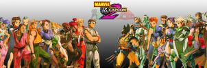 Marvel vs. Capcom 2 Cast by PacDuck