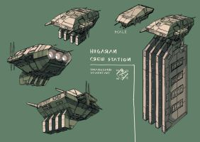 Higgaran CrewStation by 4-X-S