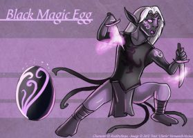 Black Magic Egg - Adoptable by Ulario