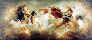 When Music Surrounds You by Lhianne