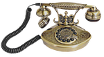 Gold_Telephone by fatimah-al-khaldi