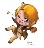 APH america chibiness by Liedeke