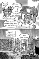 The Junk Hyenas Diner 'Face the Music' page 1 by raizy