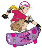 She was a sk8er girl... by andreshanti