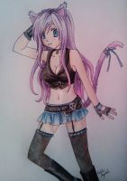 Soul Eater OC Amaya by Killjoy-Chidori