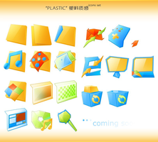 PLASTIC_Icons_Set by dstyler