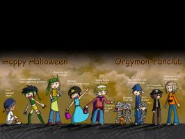 Halloween Orgymon Wallpaper by tythecooldude06