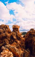 Rock towers by HellFox